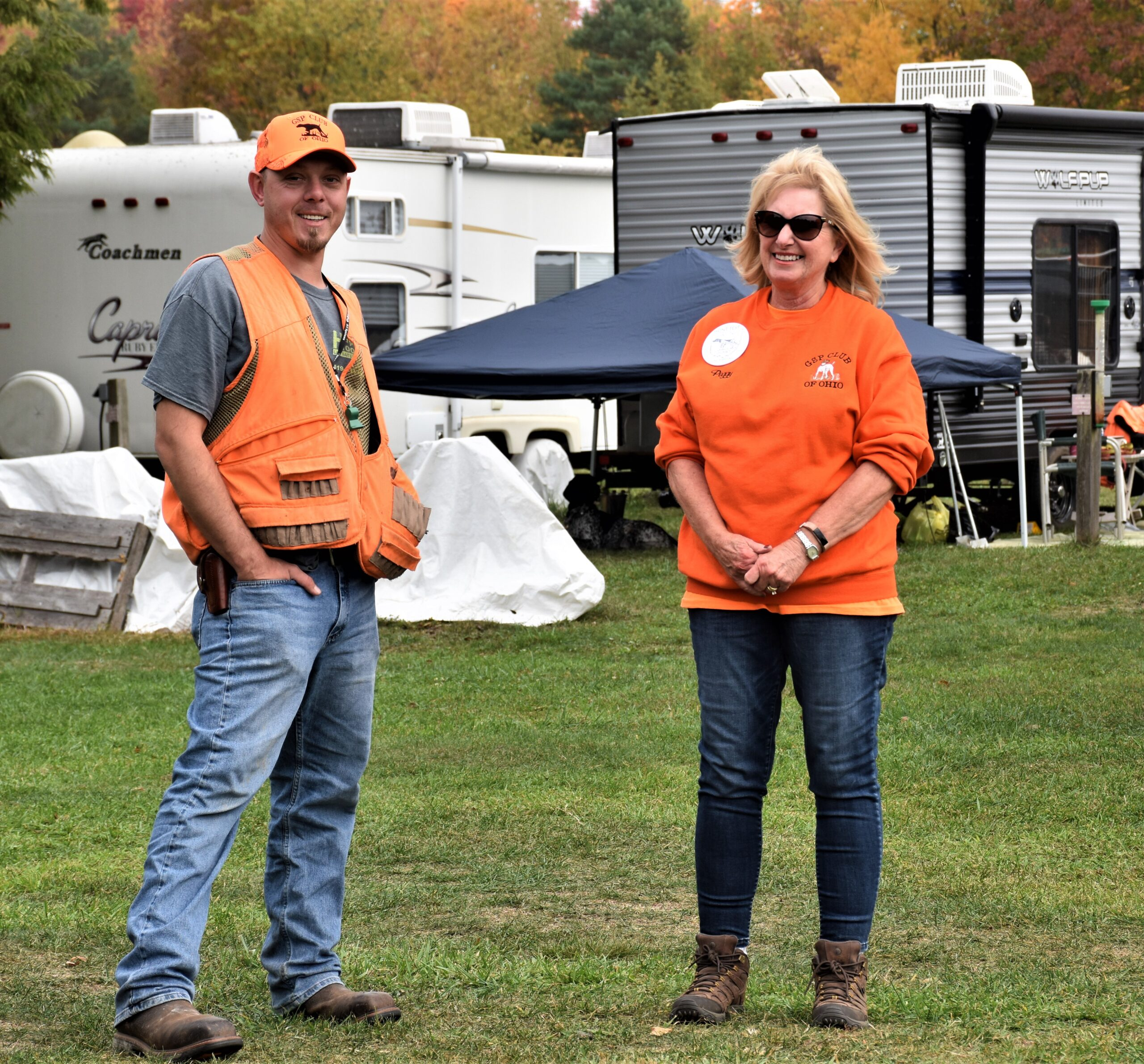 Dan-Kamp-and-Peggy-Meadors-at-October-Hunt-Test-scaled