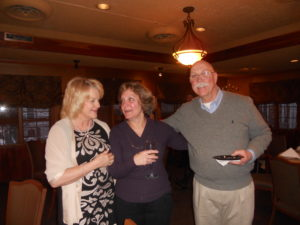 Sher Meinke, Anne Weslow and Brian Smith