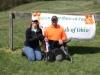 MARTY  & TIFFANY CARD FINISH THEIR DOG