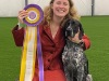 GSPCO Member Tiffany Card with Samson BEST IN SHOW