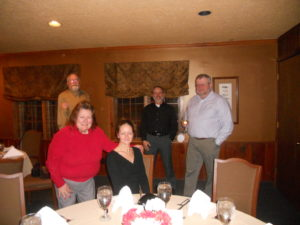 (l-r) Kathy Gall, Meredith Mays, Scott Weslow, Cliff Mesnard, Paul Gall